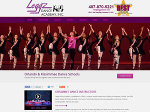 Leggz Dance Academy website