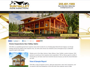 sun valley home inspections website