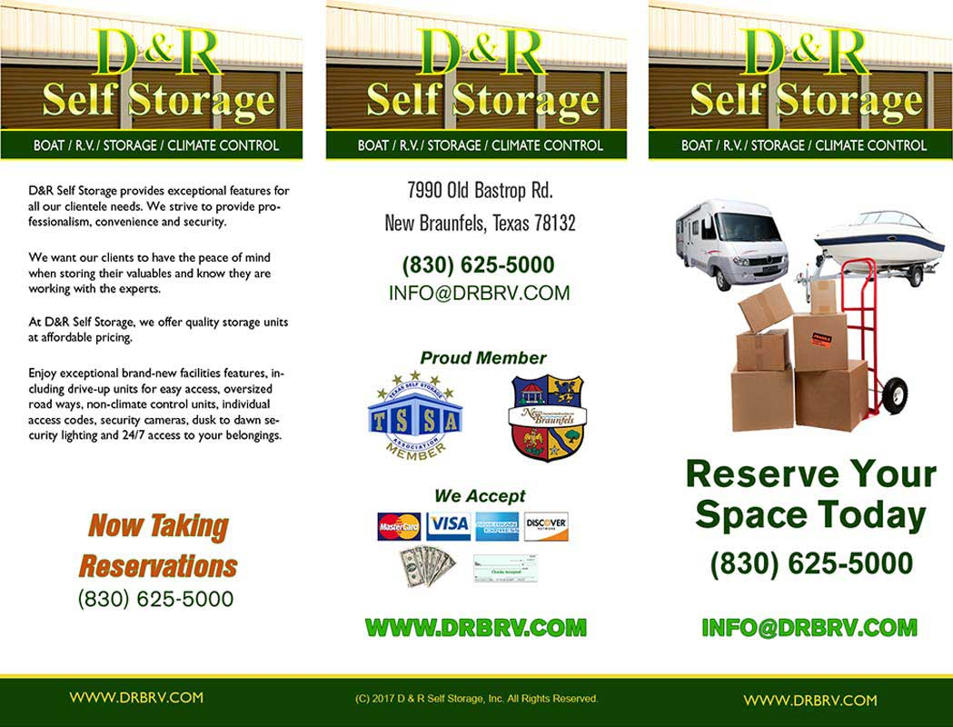 brochure sample