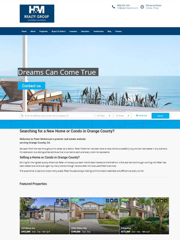 client website